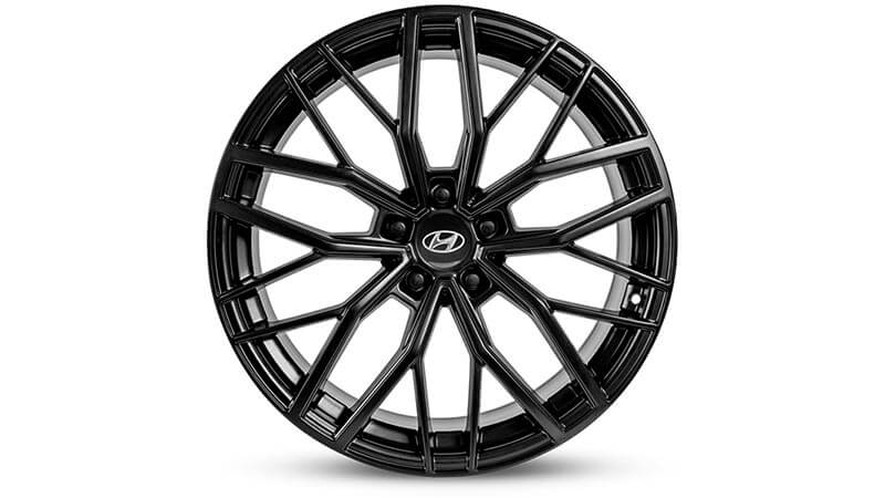 "<img src=""20"" Busan gloss black alloy wheel with TPMS"