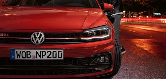 New Polo GTI GTI Heritage. The badge that started it all.