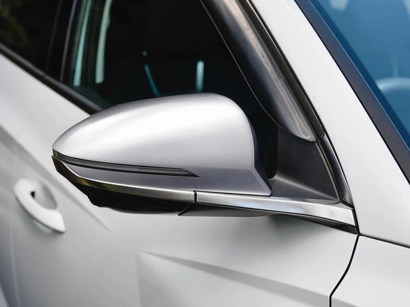 Door mirror caps - brushed alloy (set of 2)