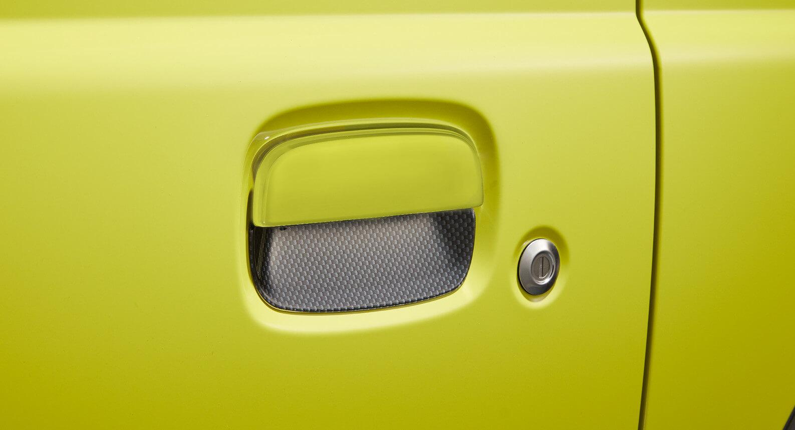 Jimny - Door Handle Escutcheon (Carbon)