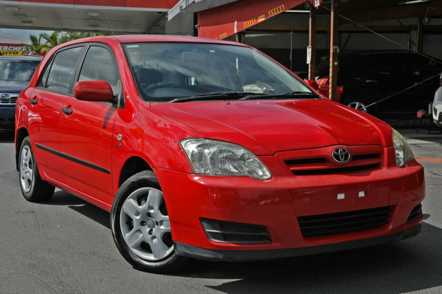 2006 Toyota Corolla ZZE122R 5Y Ascent Hatchback