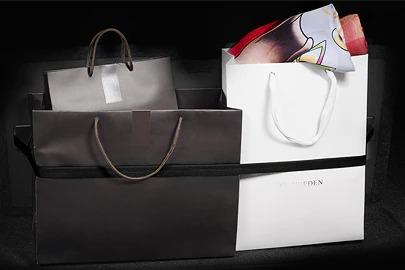 Grocery bag holder Image