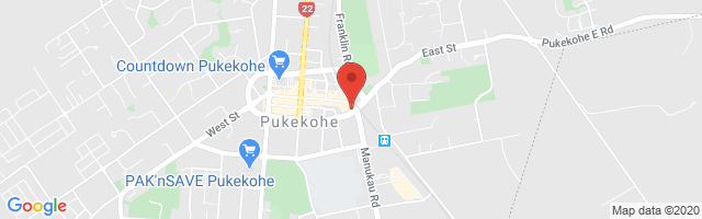 Ebbett Pukekohe MG Map