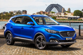 The MG ZS fits easily into the busy lifestyle of Kristeen Napier