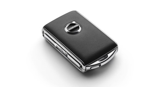 Remote key fob shell – leather