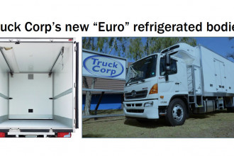 Truck Corp's new Euro refrigerated bodies