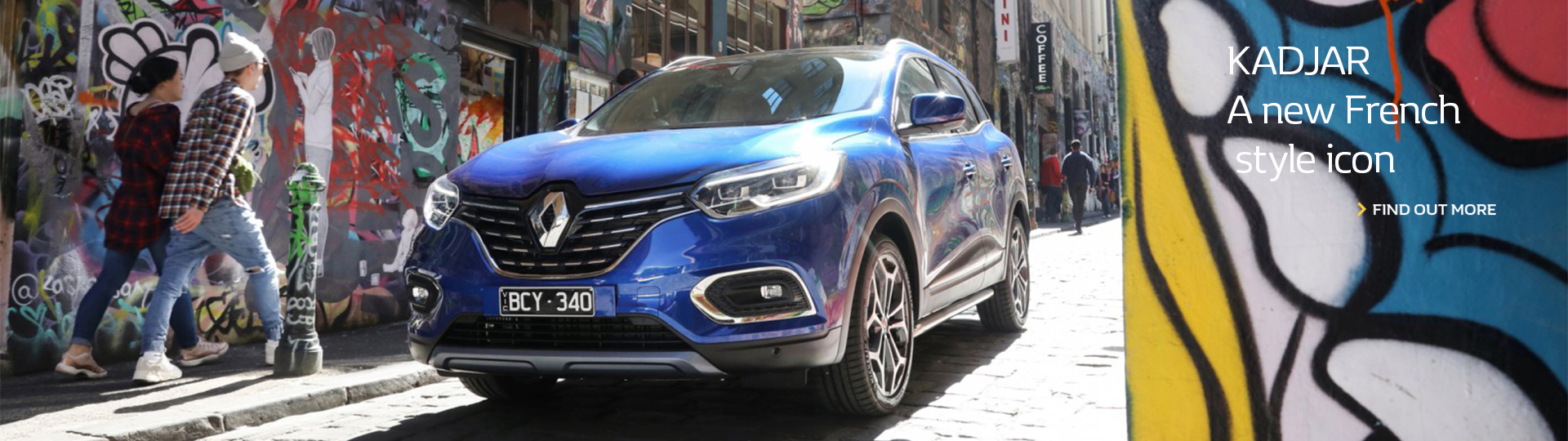 KADJAR a new french style icon. Find out more