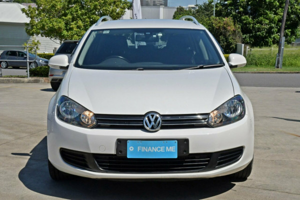 2010 MY11 Volkswagen Golf VI MY11 103TDI DSG Comfortline Wagon Image 2