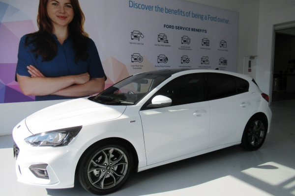 2018 Ford Focus SA 2019MY ST-LINE Hatchback