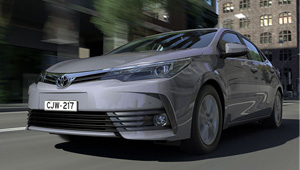 Corolla Sedan Smooth aerodynamic lines