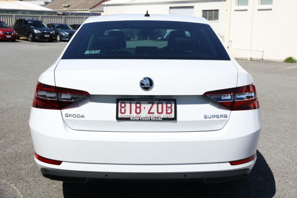 2018 MY19 Skoda Superb NP 162TSI Sedan Sedan
