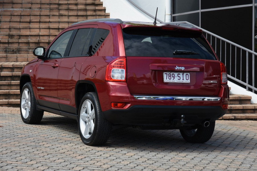 2012 Jeep Compass MK MY12 Limited Suv