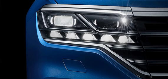 New Touareg Shine bright.