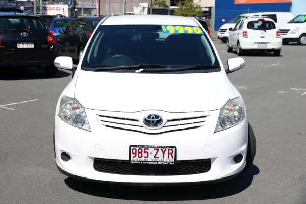 2009 Toyota Corolla ZRE152R Ascent Hatchback