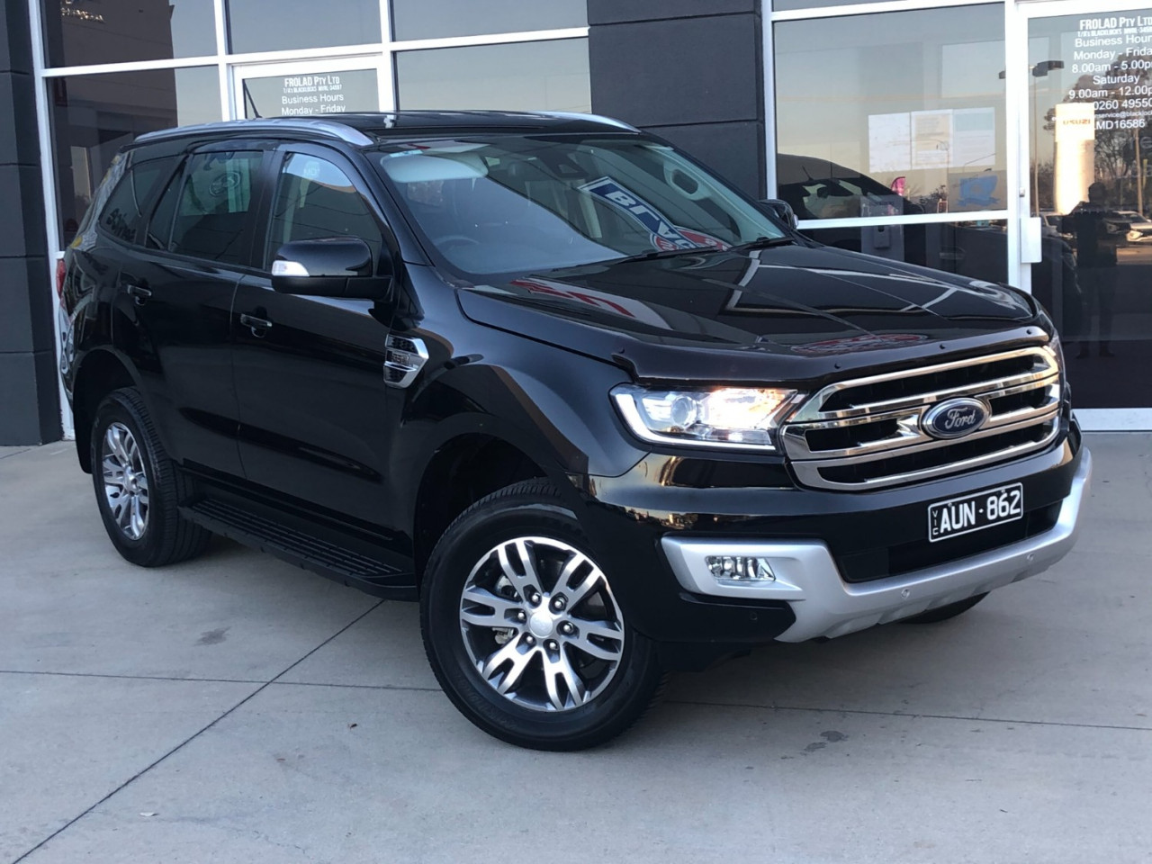 2018 Ford Everest UA 2018.00MY TREND Suv Image 1