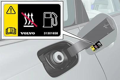 Cap-less fuel filling Image