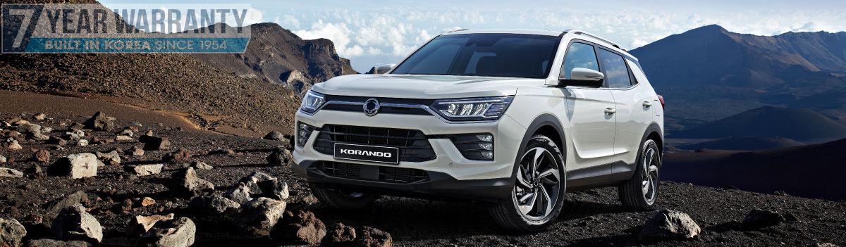 SSANGYONG | KORANDO IN STOCK AT WISES RD