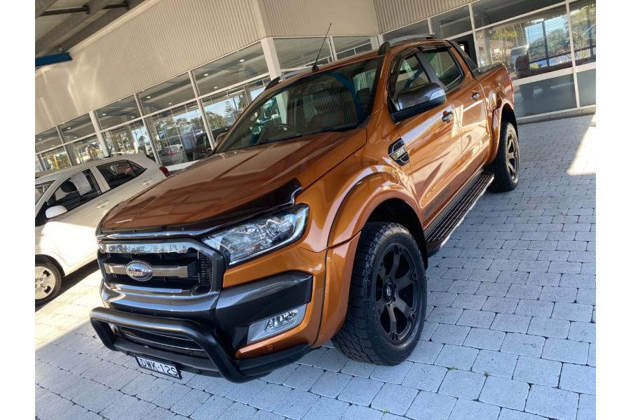 2018 Ford Ranger PX MkII  Wildtrak Ute