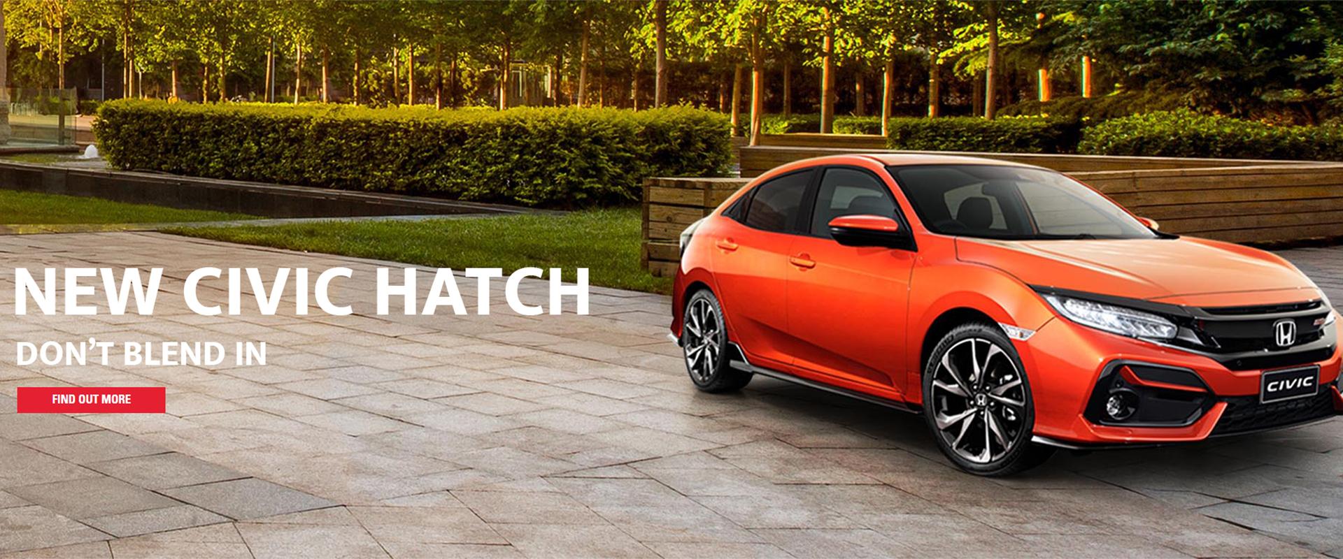 New Civic Hatch