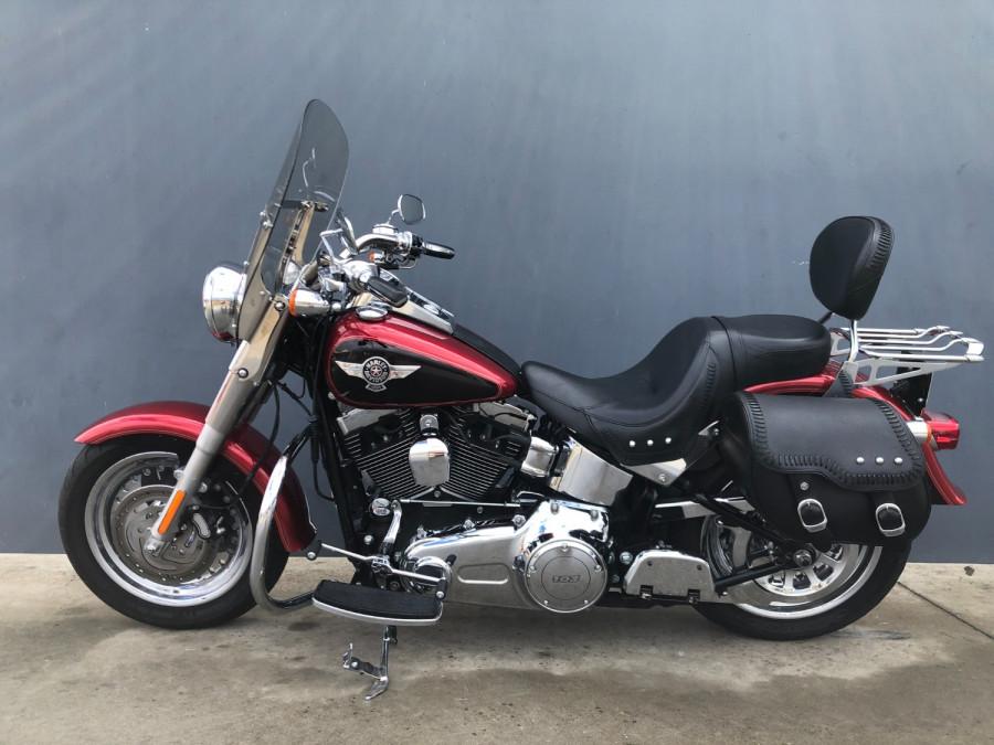 2012 Harley Davidson Fatboy FLSTE1 Motorcycle Image 2