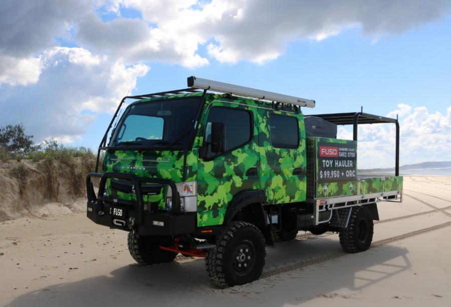 2019 Fuso Canter 4X4 CREW CAB for sale - Daimler Trucks Sunshine Coast