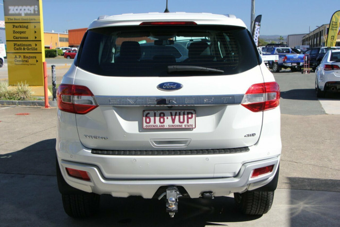 2015 Ford Everest UA Trend 4WD Wagon