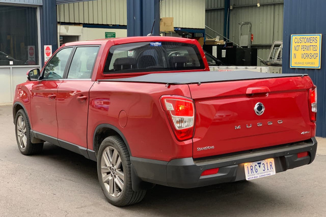 2019 SsangYong Musso Ultimate Plus 17 of 22