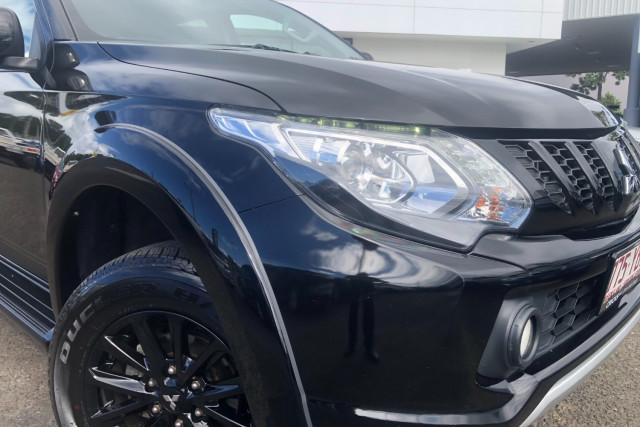 2018 Mitsubishi Triton MQ Blackline Utility Image 2