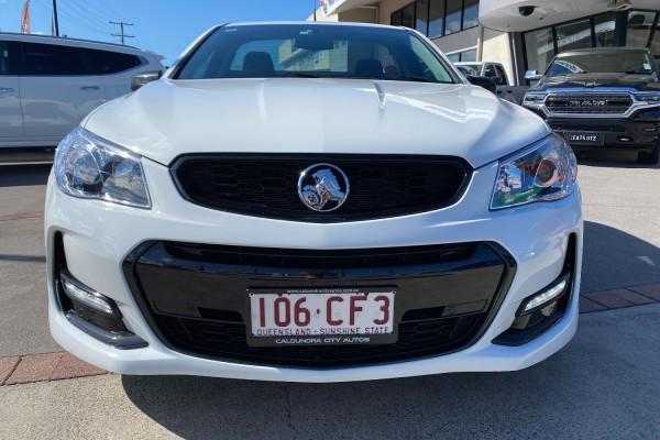 2016 Holden Commodore VF II  SV6 Black Utility Image 2