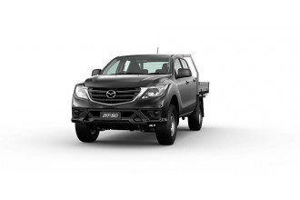 2020 Mazda BT-50 UR 4x4 3.2L Dual Cab Chassis XT Cab chassis Image 3