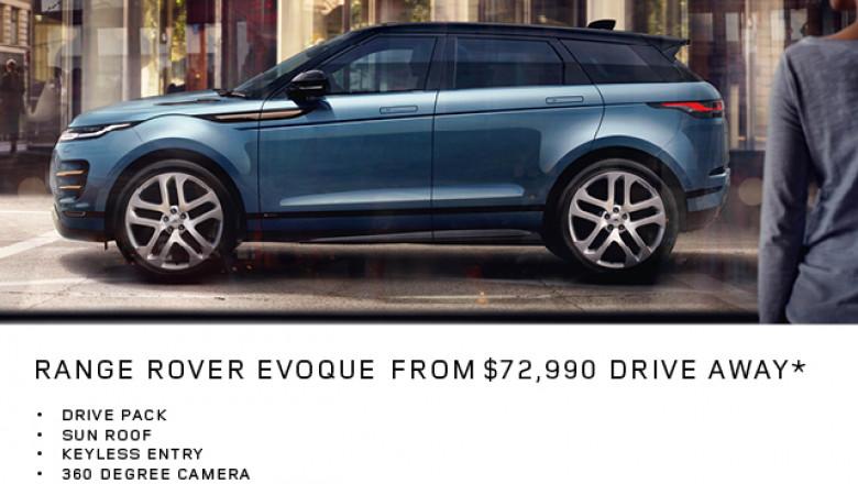 Range Rover Evoque from $72,990*