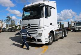 2021 Mercedes-Benz Actros 2663 MP5 StreamSpace  StreamSpace  2663  Prime mover