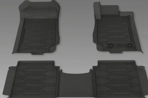 "<img src=""Mats All Weather Ford Perf - Dish Type Front and Rear Double Cab"