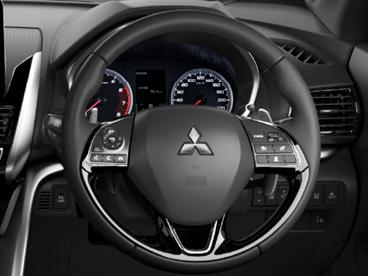 Leather-bound steering wheel Image