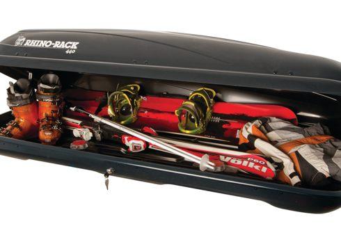 "<img src=""Rhino-Rack Roof Luggage Boxes - 440L Black"