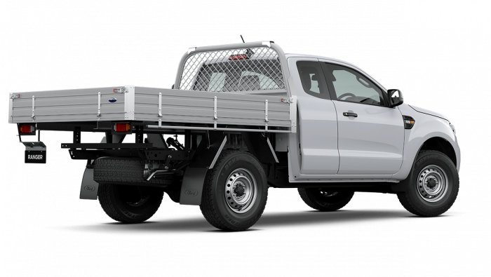 2020 MY21.25 Ford Ranger PX MkIII XL Super Cab Chassis Ute Image 4