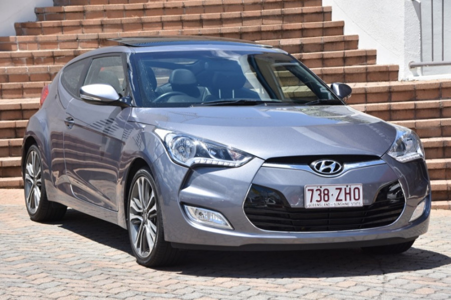 2016 Hyundai Veloster FS4 Series II + Hatchback