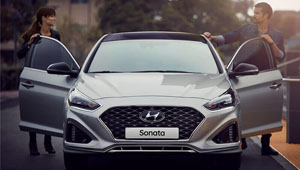Sonata New exterior design - more streamlined, more sophisticated.