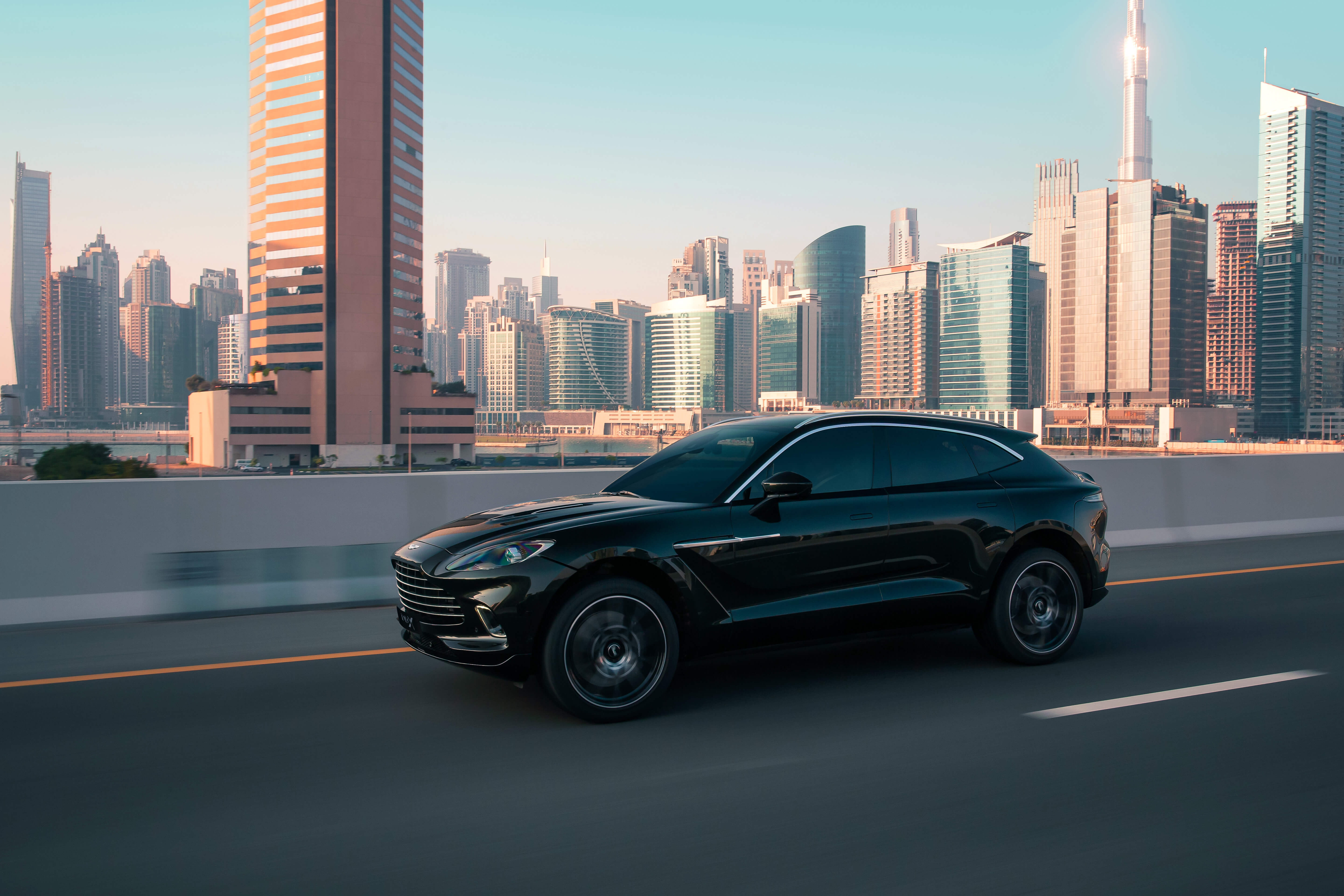 The all-new Aston Martin DBX