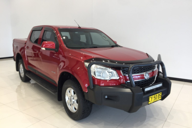 2013 Holden Colorado RG Turbo LT 4x4 dual cab
