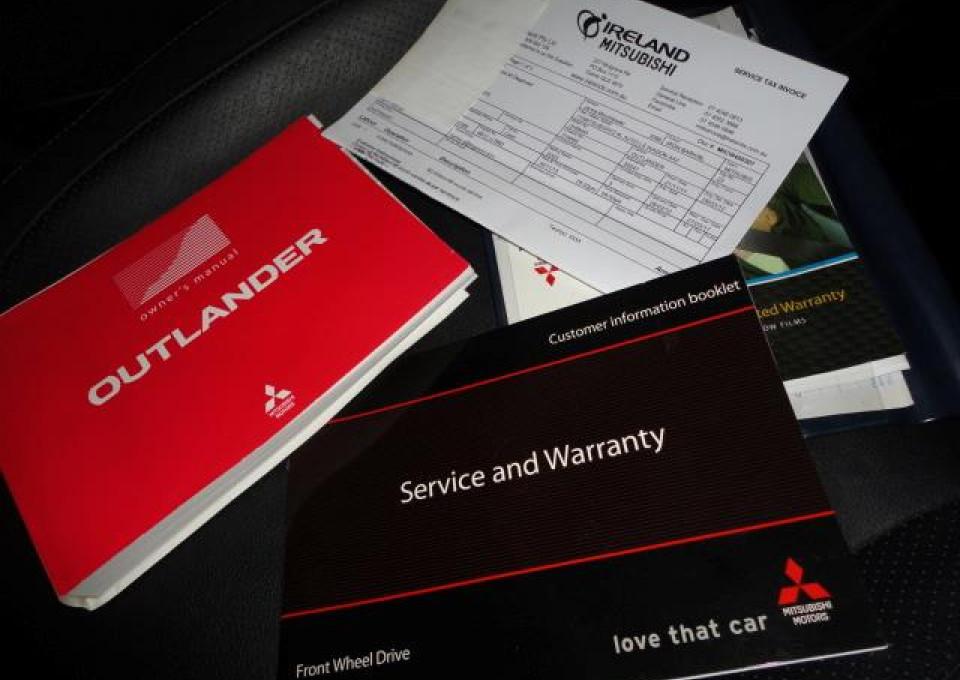 2011 MY12 Mitsubishi Outlander ZH  Platinum Wagon