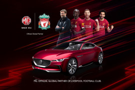 MG announced Official Global Car Partner of Liverpool FC