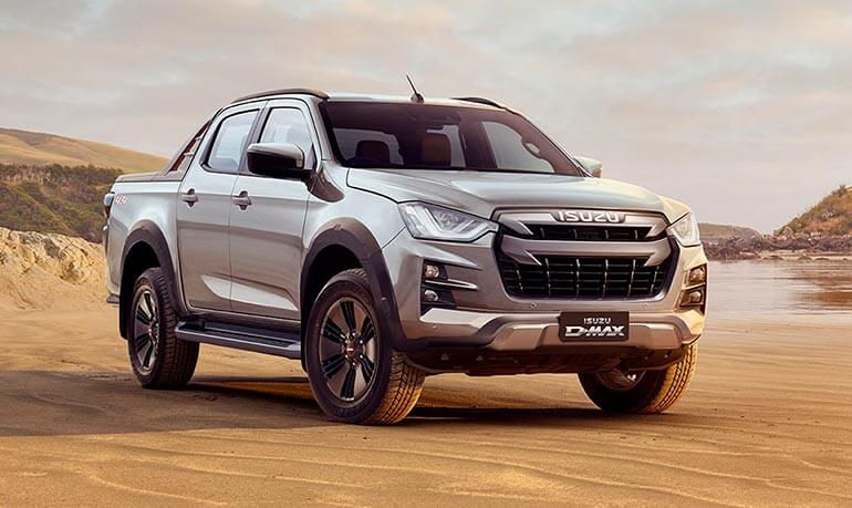 COMMAND ATTENTION AT EVERY TURN IN THE ISUZU D-MAX Image