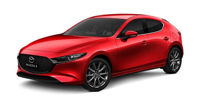 2020 MY19 Mazda 3 BP G25 GT Hatch Hatchback