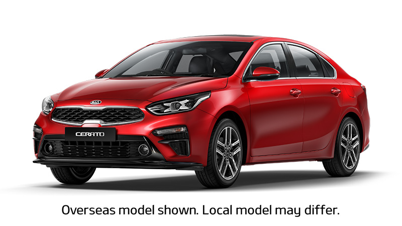 2018 MY19 Kia Cerato Sedan BD Sport Sedan