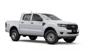2021 MY21.75 Ford Ranger PX MkIII XL Double Cab Utility Image 2