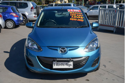 2011 Mazda 2 DE Series 1 MY10 Neo Hatchback Image 3