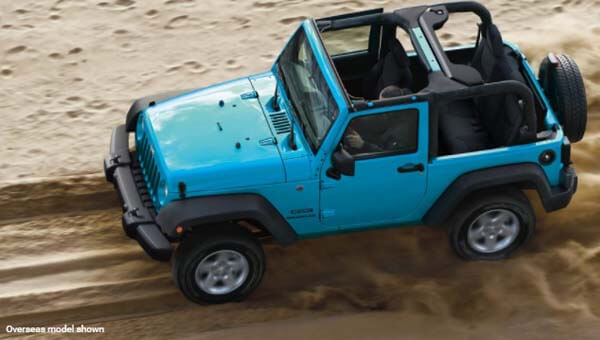 Wrangler Impressive Off-Road Performance