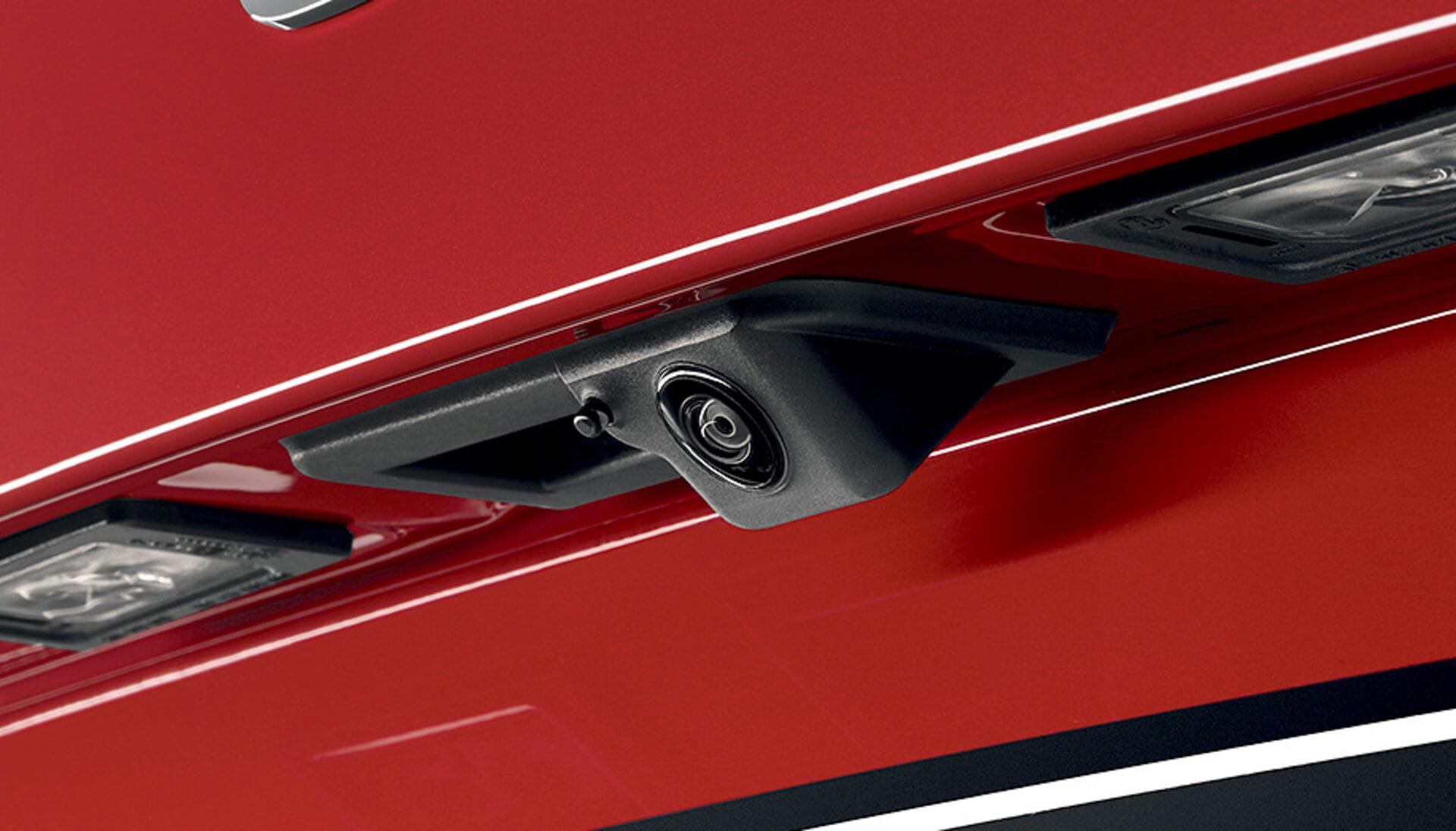 Kamiq Rear Parking Camera and Sensors