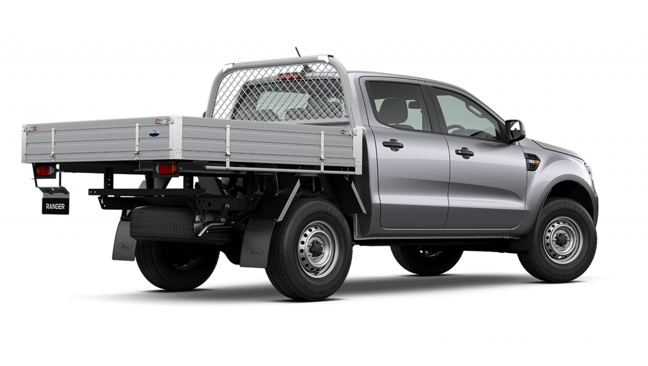 2020 MY21.25 Ford Ranger PX MkIII XL Double Cab Chassis Utility Image 4
